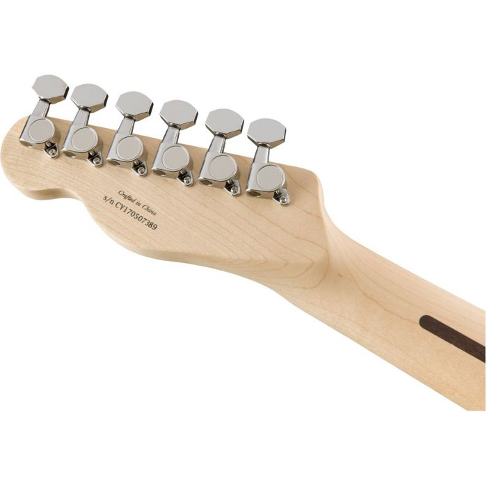 Squier Contemporary Telecaster HH Pearl White Tuning Machines