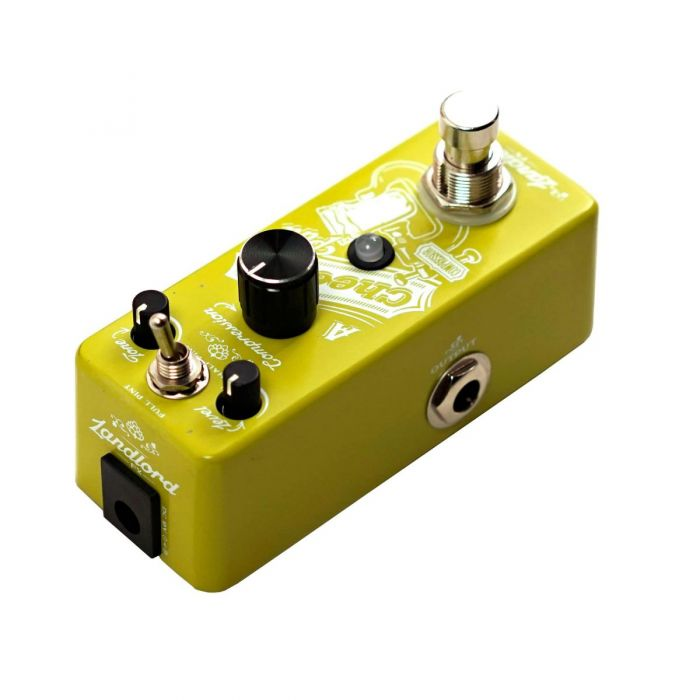 Landlord FX A Cheeky Pint Optical Compressor Pedal Left Side