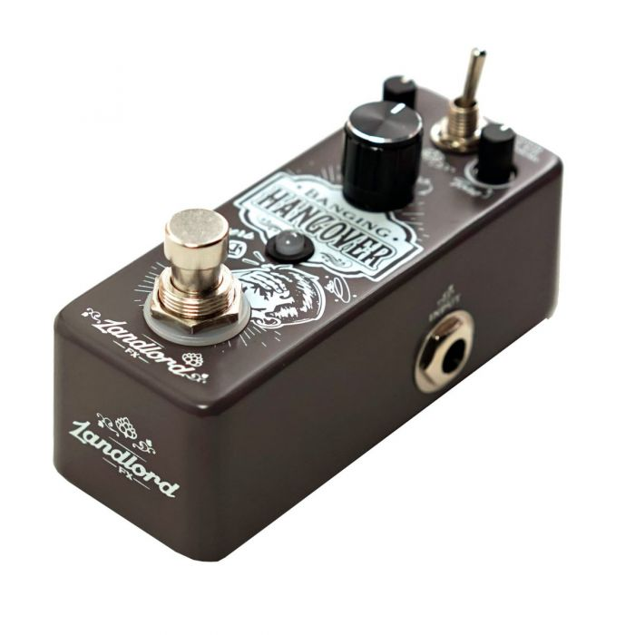 Landlord FX Banging Hangover Reverb Pedal Right Side