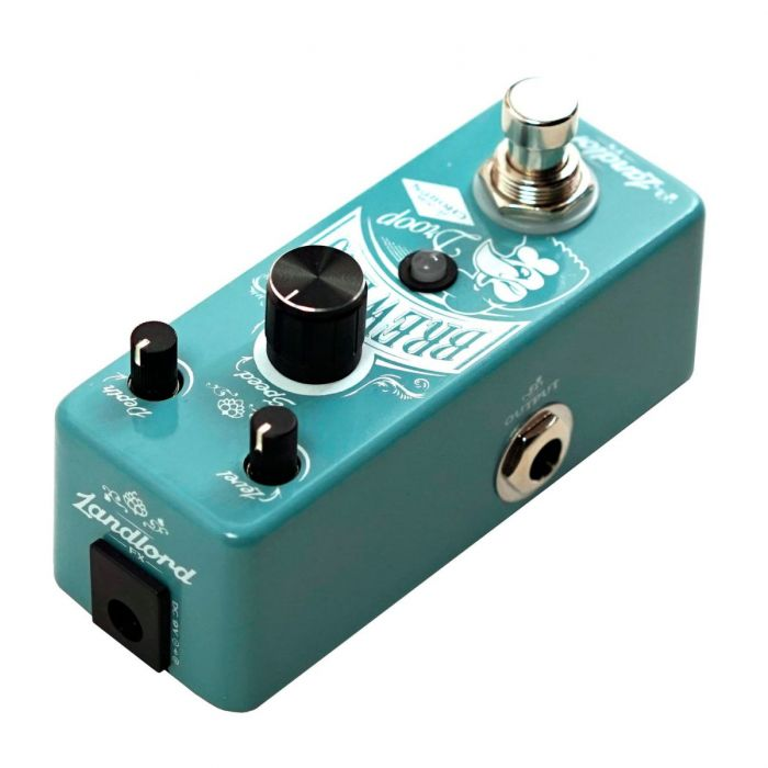 Landlord FX Brewer's Droop Analogue Chorus Pedal Left Side