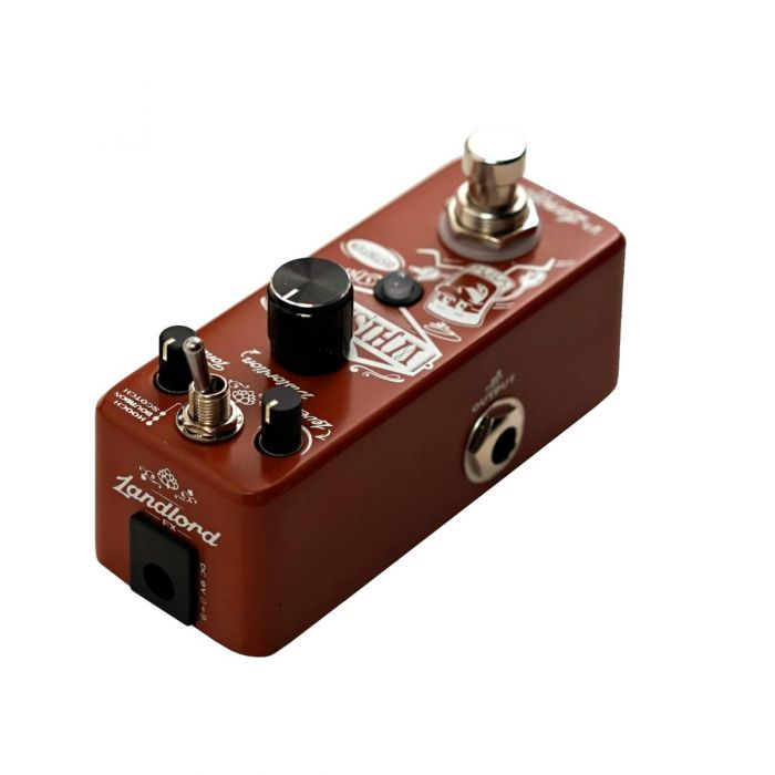 Landlord FX Whiskey Chaser Distortion Pedal Left Side