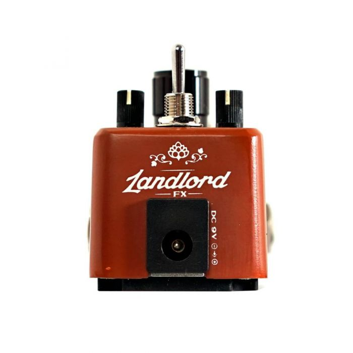 Landlord FX Whiskey Chaser Distortion Pedal Rear