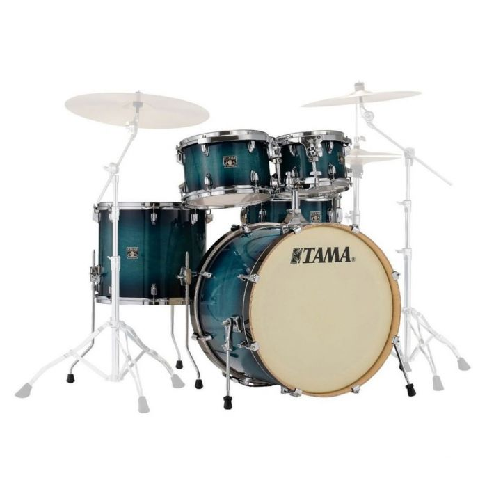 Tama Superstar Classic 5 Piece Shell Pack Blue Lacquer Burst