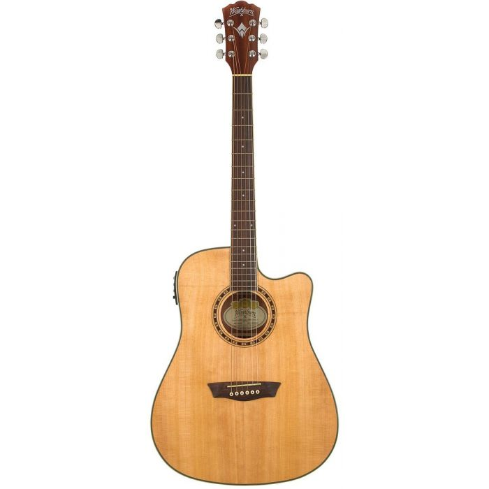 Washburn WD7SCE-N Natural Harvest 7 Series PF Acoustic Guitar