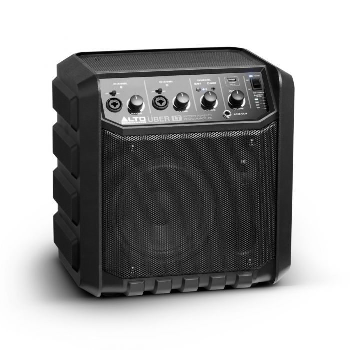 Front angle of speaker