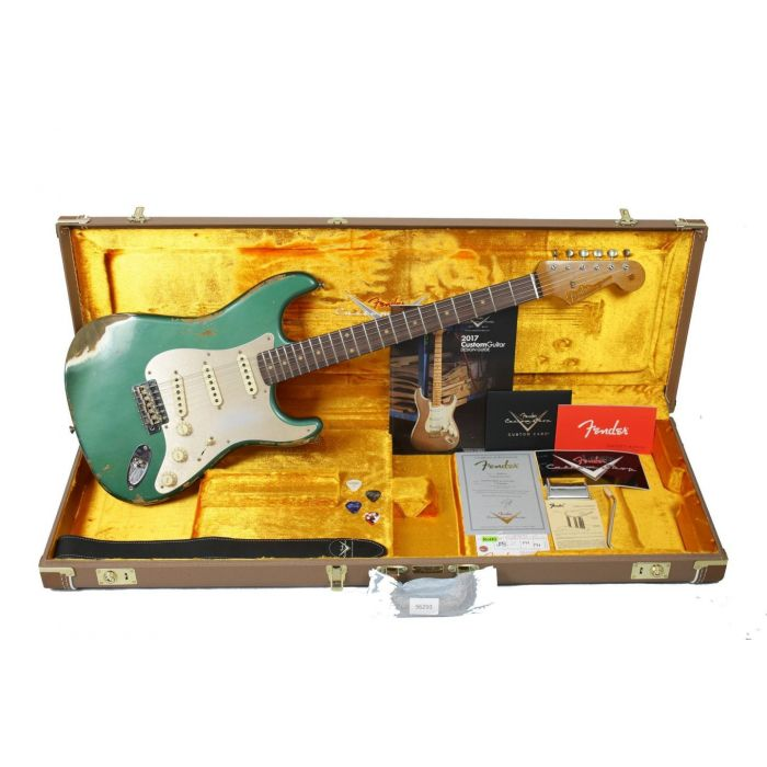 Fender CS Limited 1959 Strat Sherwood Green