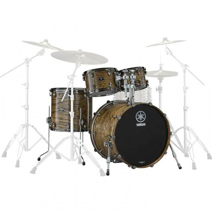 Yamaha Live Custom Hybrid Oak Fusion Shell Pack in Natural