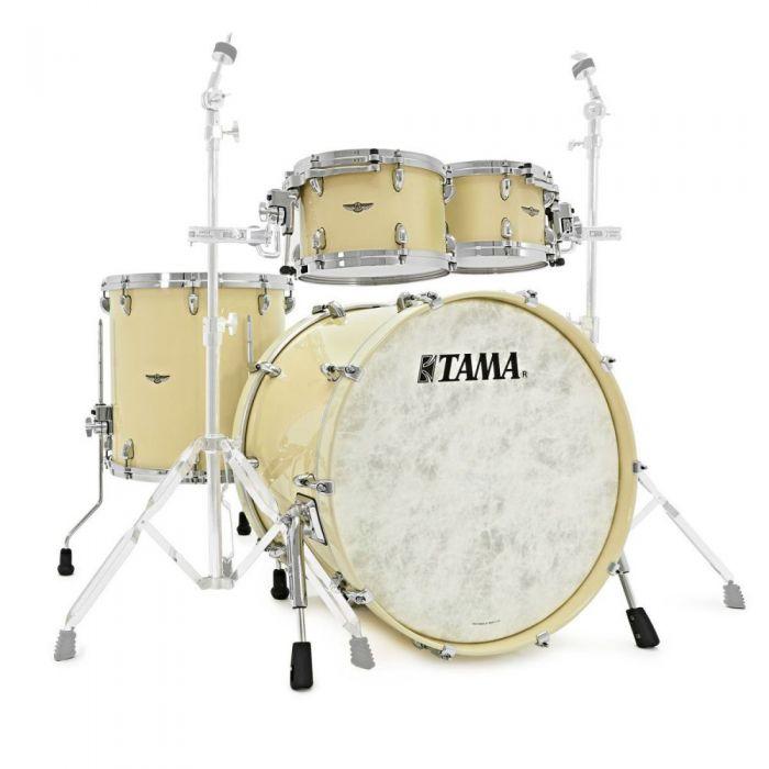 Tama Star Walnut 4-Piece Shellpack Antique White