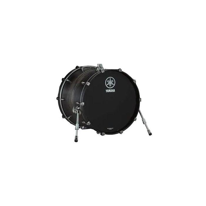 Yamaha Live Custom Hybrid Oak 22x16 Bass Drum in Charcoal Sunburst