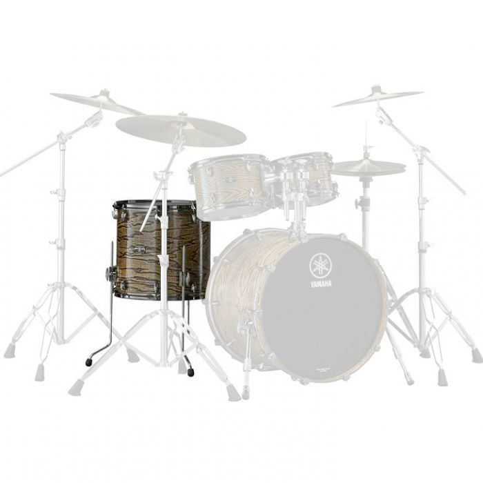 "Yamaha Live Custom Hybrid Oak 16x15"" Floor Tom in Natural"
