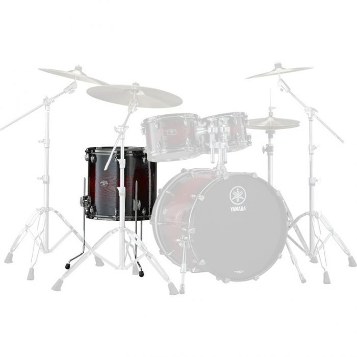"Yamaha Live Custom Hybrid Oak 16"" x 15"" Floor Tom in Magma Sunburst"