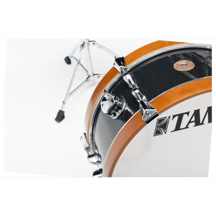 Tama Club Jam Mini Drum Kit in Charcoal Mist Bass Drum
