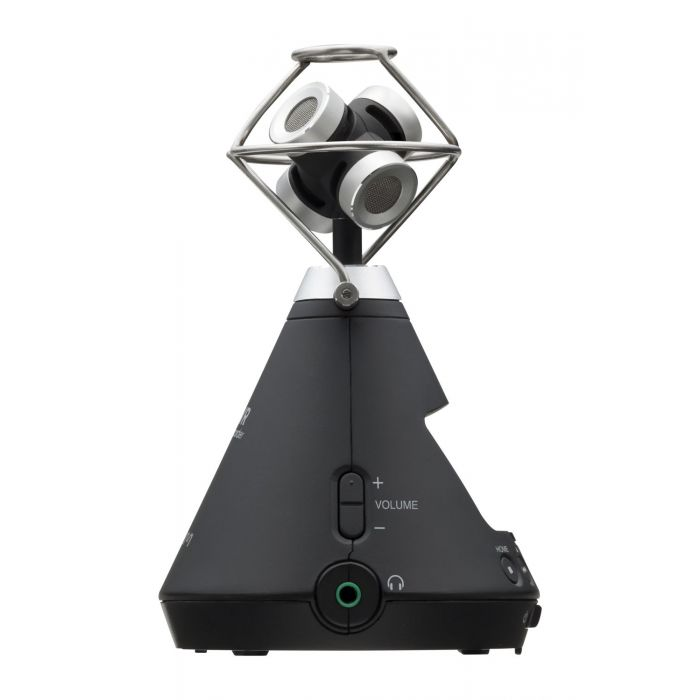 Zoom H3-VR Virtual Reality Audio Recorder Left Side