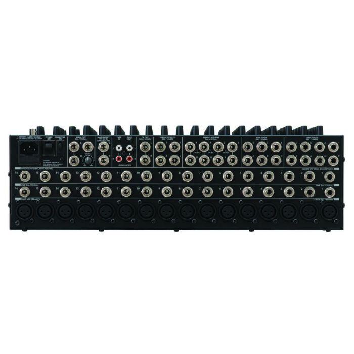 Mackie 1604VLZ4 Mixer Rear Panel