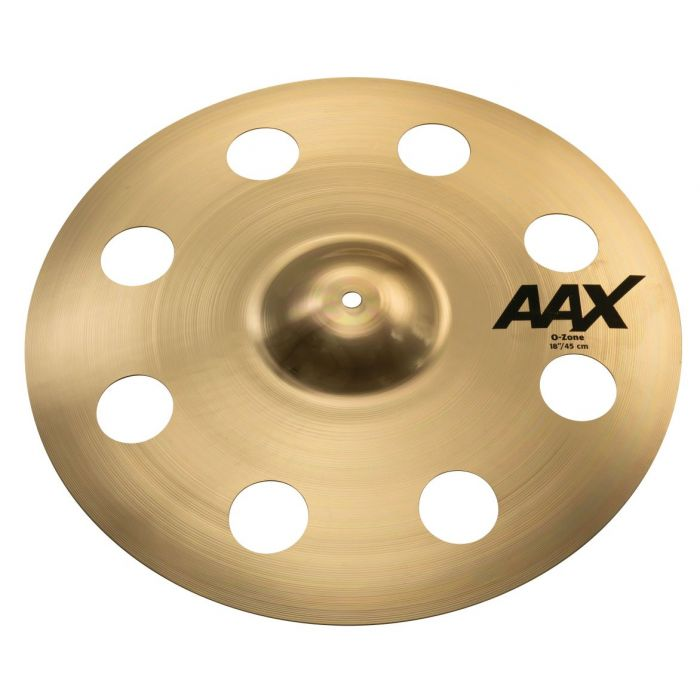 "Sabian AAX 18"" O-Zone Crash Cymbal Brilliant"
