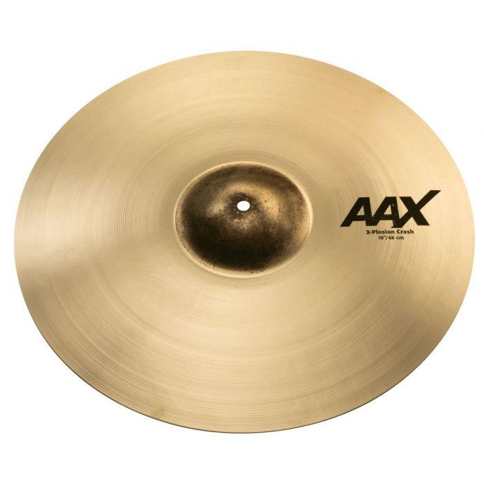 """Sabian AAX 19"""" X-Plosion Crash Cymbal Brilliant"""