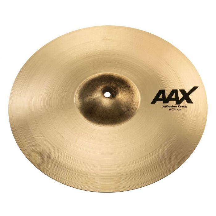 """Sabian AAX 16"""" X-Plosion Crash Cymbal Brilliant"""