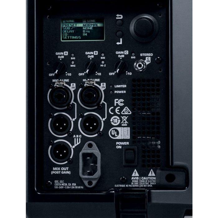 K12.2 Active Speaker Rear