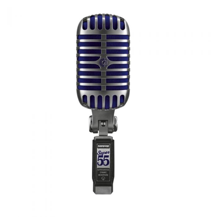 Shure Super 55 Deluxe Vocal Microphone Front View