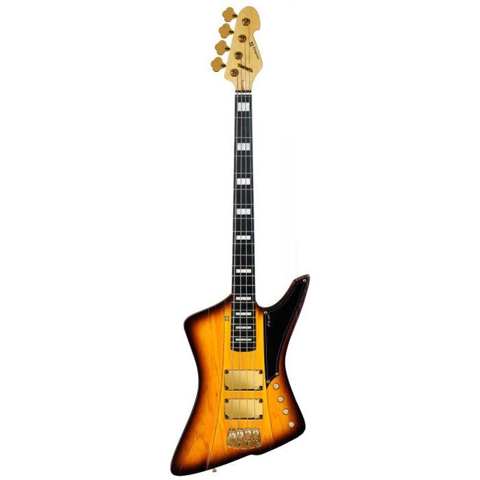 Sandberg 48 4-String Bass Matte Tobacco Sunburst