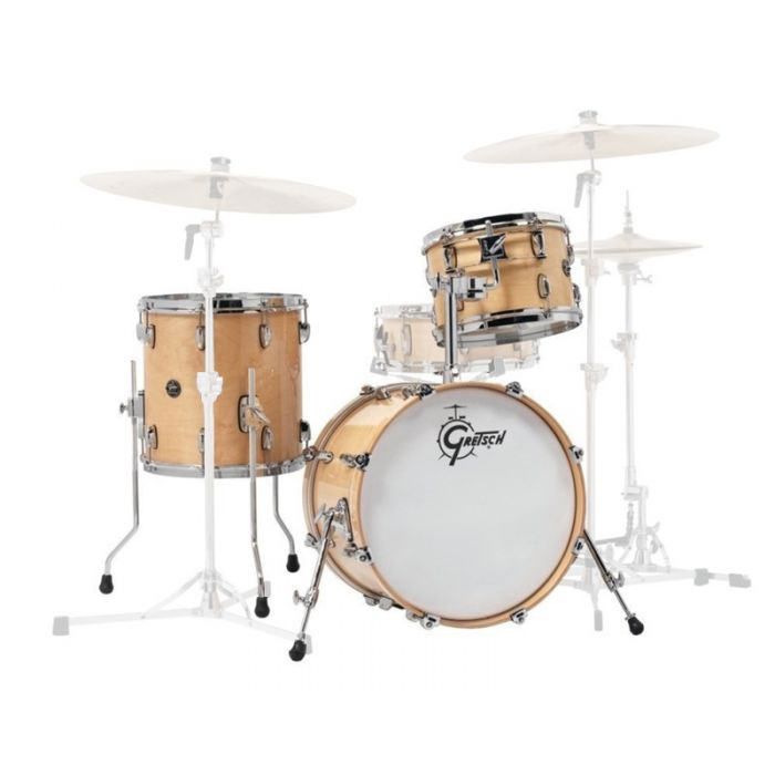 Gretsch Renown 3 Piece Shell Pack in Gloss Natural