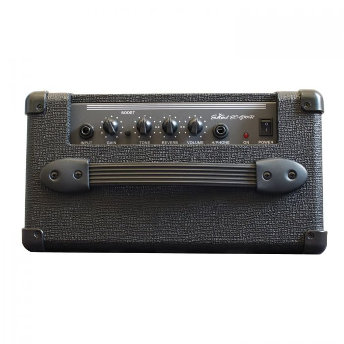 Above View of Controls On The Eastcoast EC-G10R Electric Guitar Combo Amp