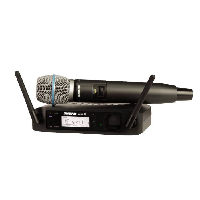 Shure GLXD24 Beta 87A Wireless Microphone System