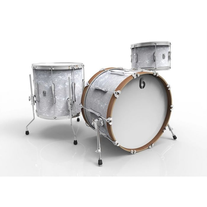 British Drum Co Lounge 3-Piece Kit in Windermere Pearl