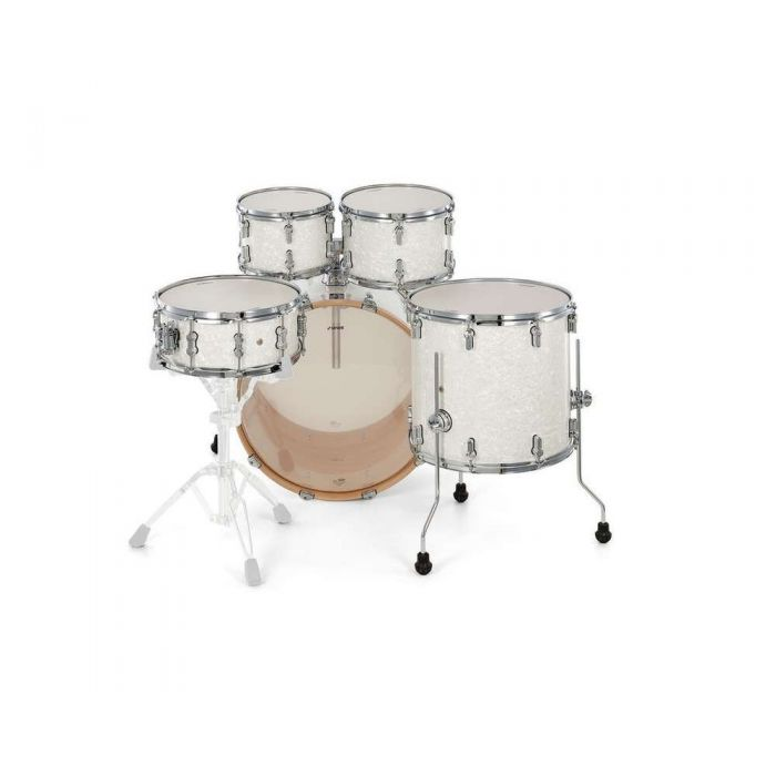 Sonor AQ2 Studio Shell Pack White Pearl Drummer View