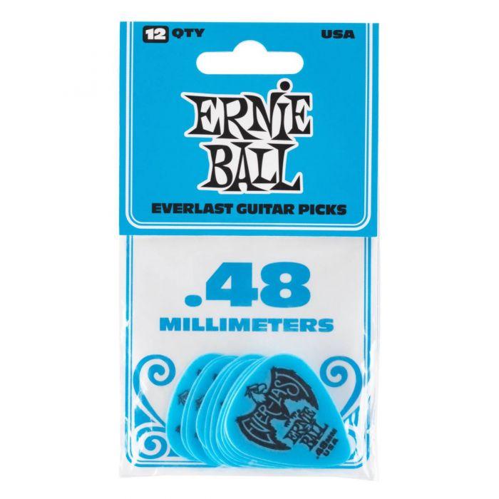 Ernie Ball Everlast Picks 12-pack Blue