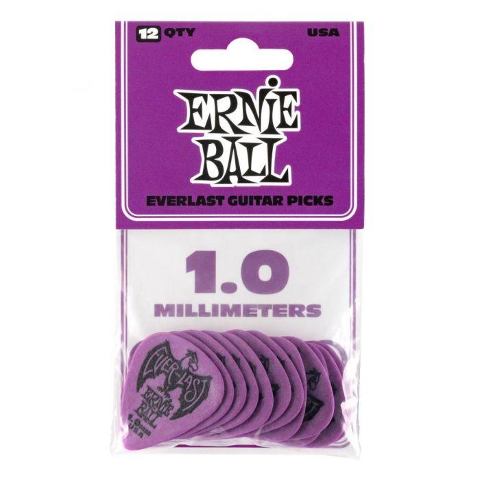 Ernie Ball Everlast Picks 12-pack Purple