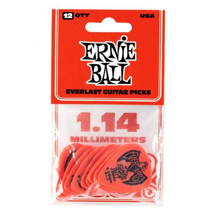 Ernie Ball Everlast Picks 12-pack Red