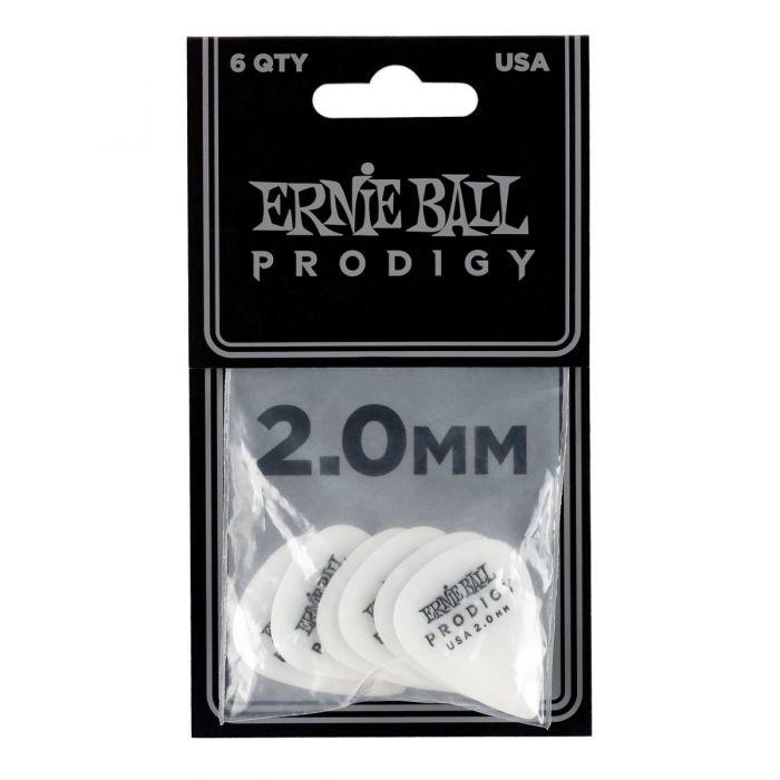 Ernie Ball Prodigy Picks 2.0 MM 6 Pack