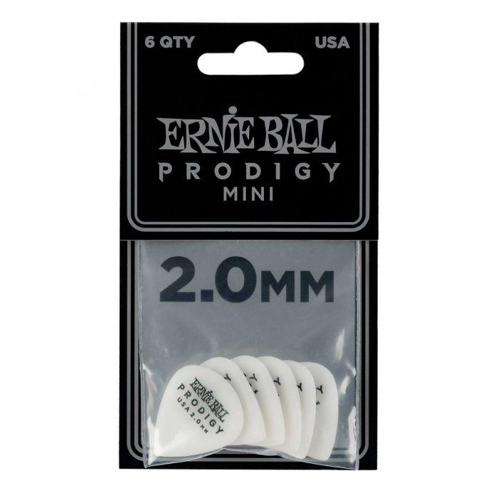 Ernie Ball Prodigy Picks Mini 2.0 MM