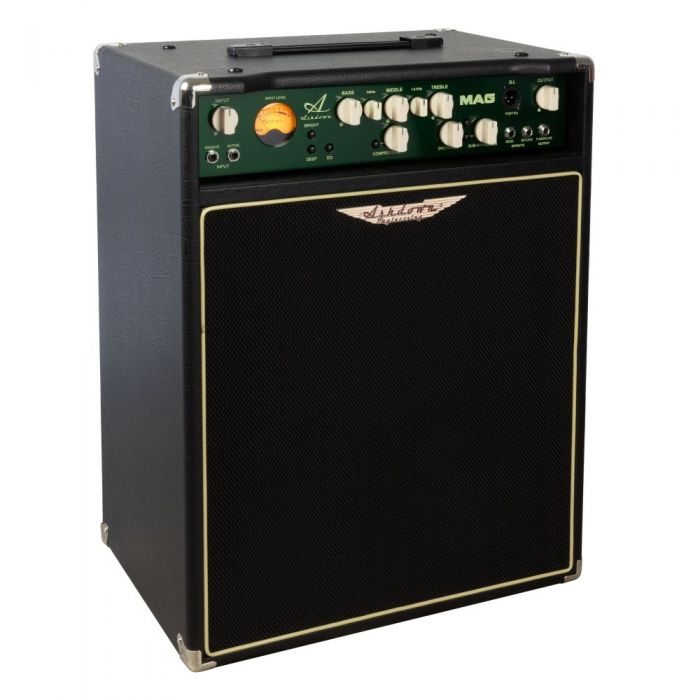 Left angle image of limited edition PMT Exclusive Ashdown Evo III 210 Bass Combo