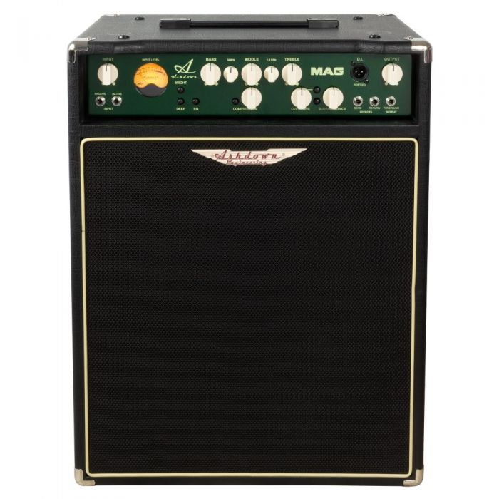 Front image of a Ashdown MAG C115-300 EVO III Bass Amp Combo