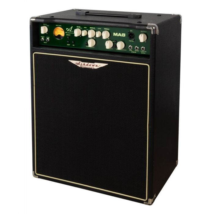 right angle side of a Ashdown MAG C115-300 EVO III Bass Amp Combo