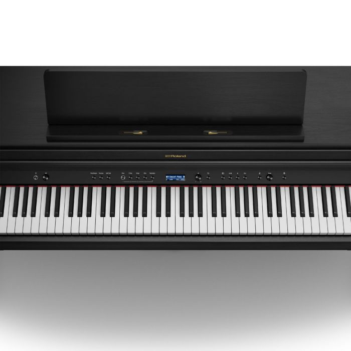 Roland HP704 Piano Charcoal Black Keybed