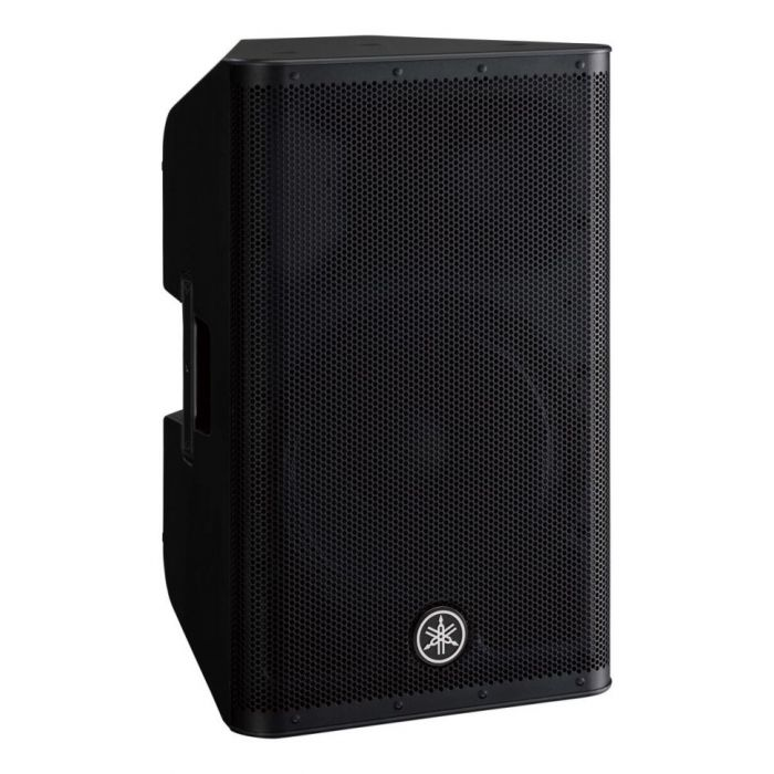 Front right-angled view of a new DXR12 MKII Active PA Speaker from Yamaha
