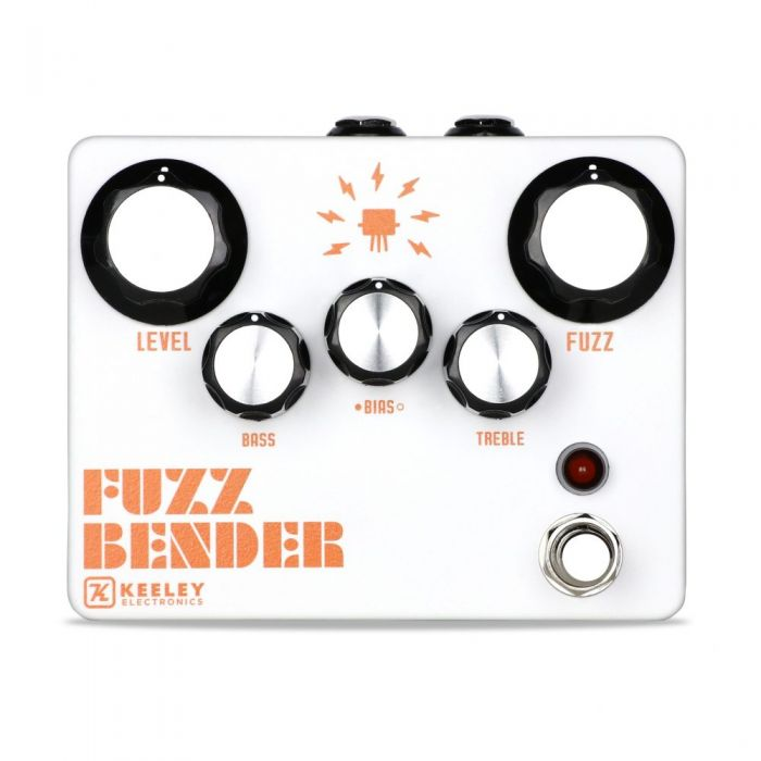 Keeley Fuzz Bender Pedal Front View