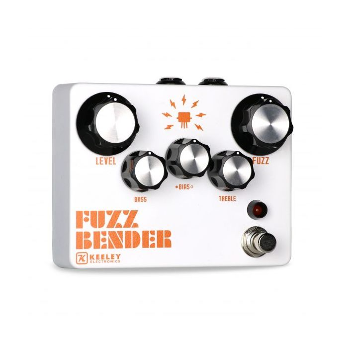 Keeley Fuzz Bender Pedal Angled View