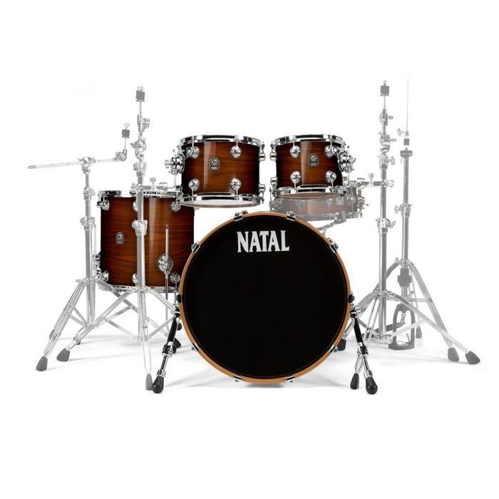 Natal Originals Walnut UFX Shell Pack in Natural Walnut