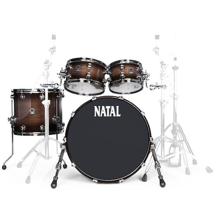 Natal Originals Walnut UFX in Vintage Burst