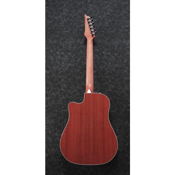 Ibanez Altstar ALT30 Electro-Acoustic Guitar Red Sunburst Back