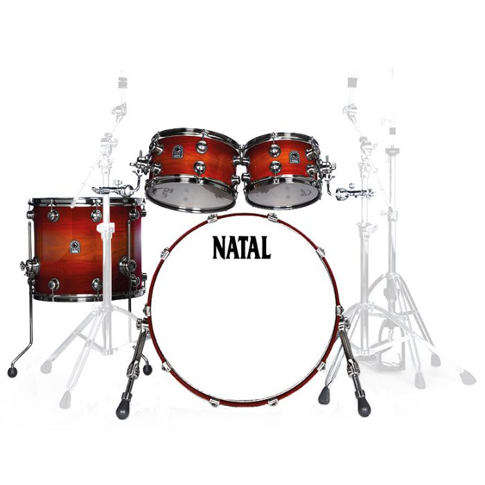 Natal Originals Walnut F20 Shell Pack in Sunburst
