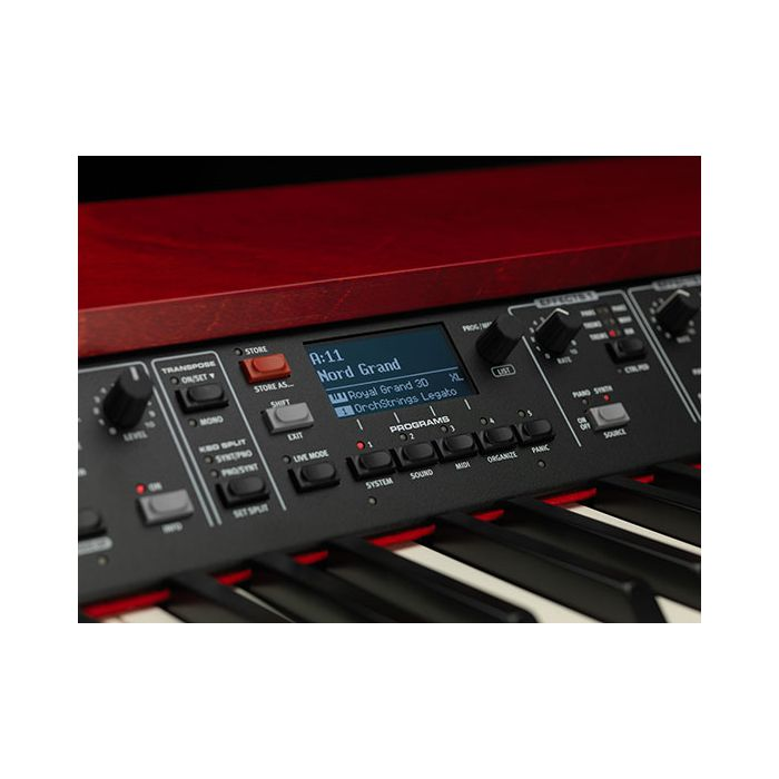 Nord Grand LCD Display