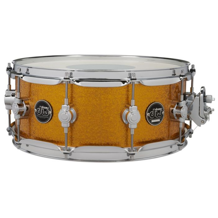 "DW Performance 14"" x 5.5"" Snare Drum in Gold Sparkle"