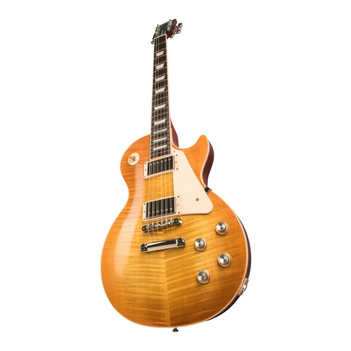 Front angled image of a Gibson Les Paul Standard 60s guitar with an Unburst finish