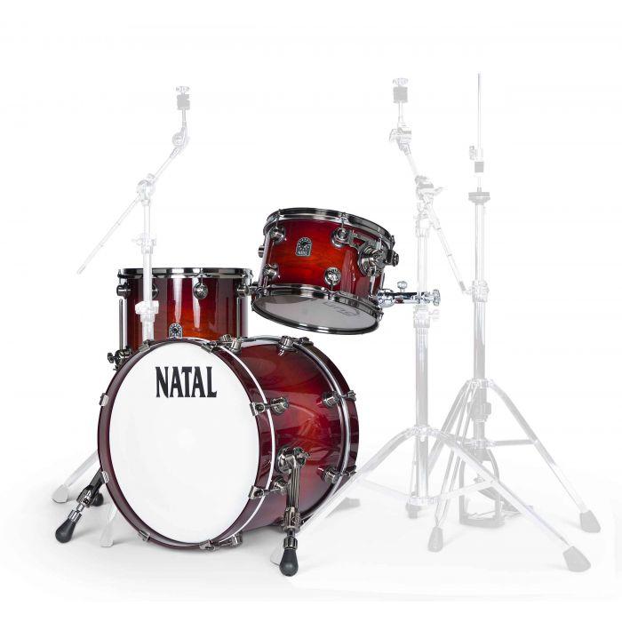 Natal Originals Walnut Jazz Shell Pack in Sunburst