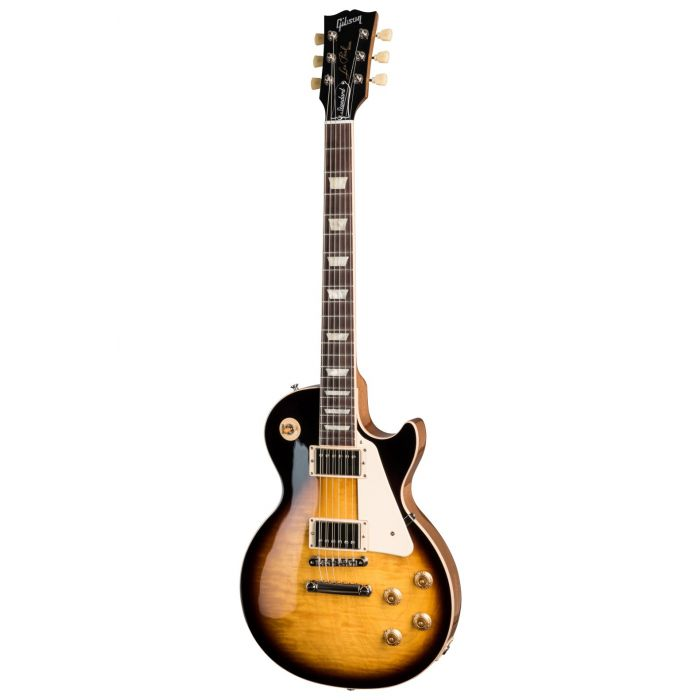 Full frontal image of a Gibson Les Paul Standard 50s Tobacco Burst guitar